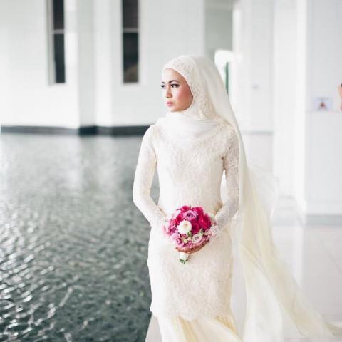 صورة اجمل الفساتين للمحجبات , ازياء محجبات بالصور
