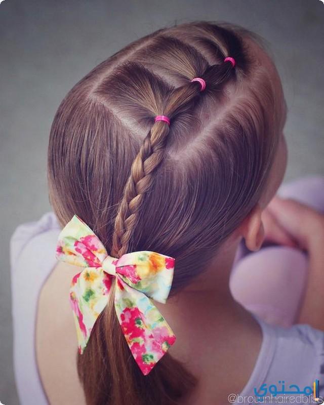 صورة تسريحات شعر للمدرسة , قصات شعر روعة للمدارس