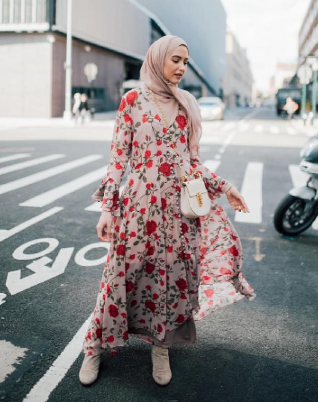 صورة موضة صيف 2019 للمحجبات , اشيك ستايل ملابس نسائي للمحجبات 3257 1