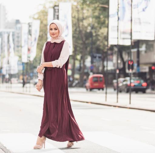 صورة موضة صيف 2019 للمحجبات , اشيك ستايل ملابس نسائي للمحجبات 3257 3