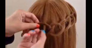 صور تزيين الشعر , طرق تسريحات لزينة شعر المراه