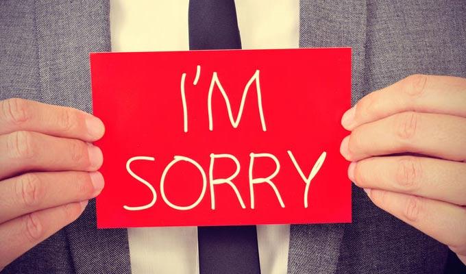 صورة رسائل اعتذار , مسجات اسف للارسال