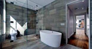 صور حمامات مودرن , تصاميم حمام حديث 2019