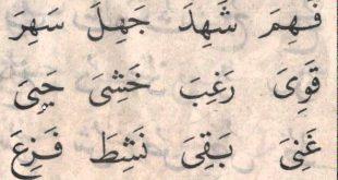 صورة كلمات عربية , كلام عربي الاصل