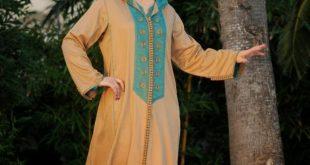 صورة جلابيات مغربية , اجمل انواع الجلابيات في الاسوق المغربية