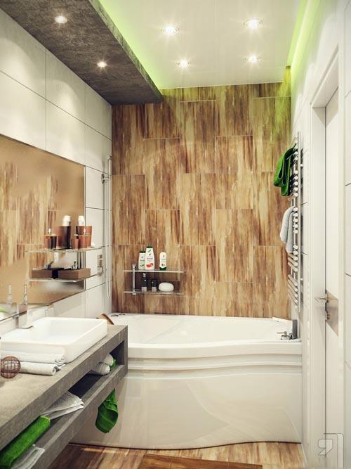 صور ديكور حمامات صغيرة , اجمل صور ديكورات حمامات تحفة