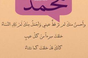 صورة قصائد مدح قويه , اجمل ابيات شعر لمدح النبي