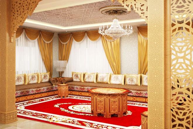 صور ديكور مغربي , اجمل ديكور غرف منزل مغربي
