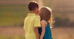 صورة صور بوس جامده , احلى حركات اطفال اخوات قبلات مع خجل