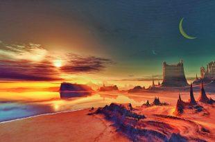 صورة صور خلفيات جميلة , خلفية من شروق و غروب الشمس جميلة