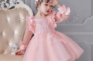 صور فساتين سهرة للمناسبات , اجمل فستان قصير للسهرات للبنات الصغار