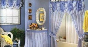 صور ستائر حمامات , احلى ستارة للحمام