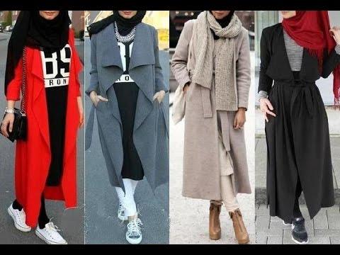 صورة ملابس محجبات 2019 , ملابس المحجبات العصرية