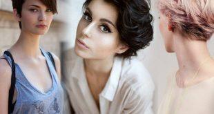 اجمل تسريحات الشعر القصير , تسريحة لشعرك القصير جديد