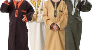 صورة صور ملابس اطفال , جلباب عربى للاطفال