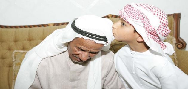 صور تعبير عن بر الوالدين , تعبير فضل البر بالوالدين