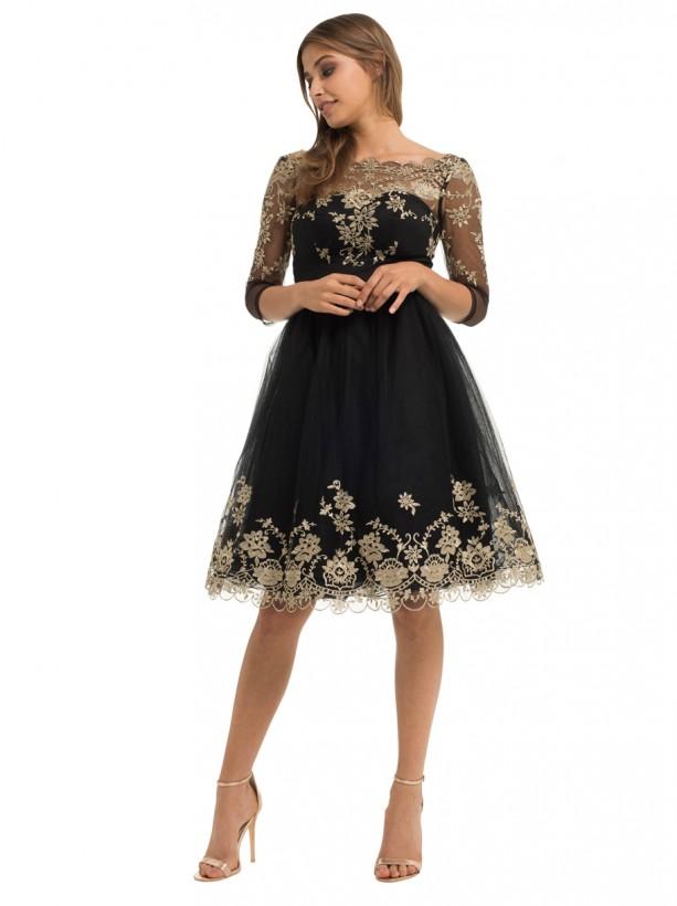 صورة فساتين دانتيل , افخم فستان دانتيل