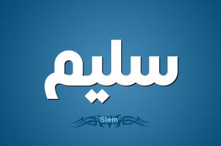 صورة معنى اسم سليم , ماهو معنى اسم سليم في اللغة العربية