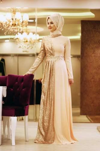 صور صور موديلات , اجمل فستان محجبات للسهرات