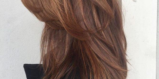 صورة قصات شعر مدرج , صور تسريحات شعر نسائية مدرجه
