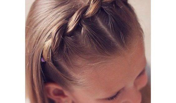 صورة تساريح اطفال , اجمل صور تسريحة شعر بنات للعيد
