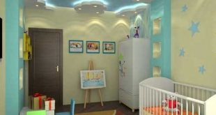 صورة ديكورات جبس غرف نوم اطفال , اشكال رائعه من ديكور جبس اسقف حجرة اطفال 3730 11 310x165