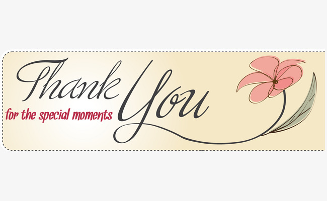 صورة بطاقة شكر , اشكرك واتمنى لك التوفيق