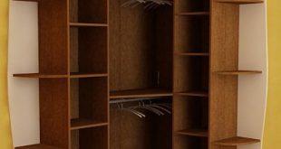 صور تصميم داخلي , تصميمات حديثه و عصرية لخزائن الملابس الخشبية