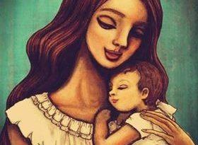 صورة شعر عن الام قصير جدا , ابيات شعر روعه للام