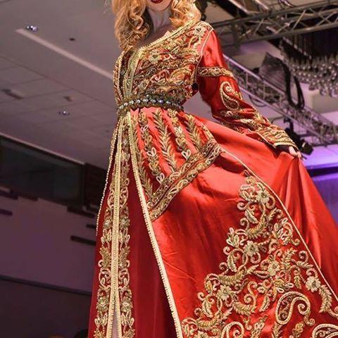 صور قفطان مغربي 2019 , صور القفطان المغربى جميل