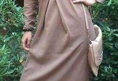 صورة موديلات حجابات جزائرية مخيطة , حجابات كلاسيكية جزائرية صور حجاب مخيط