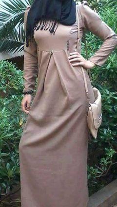 صور موديلات حجابات جزائرية مخيطة , حجابات كلاسيكية جزائرية صور حجاب مخيط