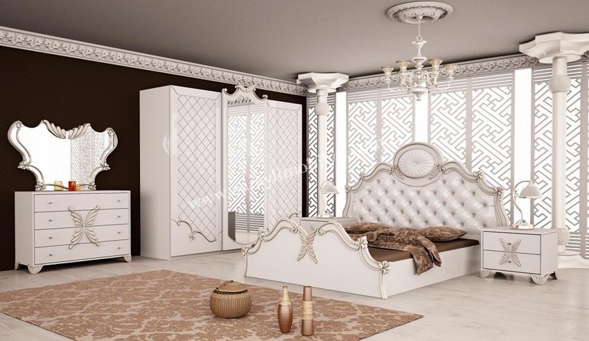 صور غرف نوم بيضاء , غرف نوم مودرن باللون الابيض