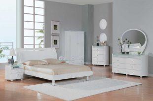 صورة غرف نوم بيضاء , غرف نوم مودرن باللون الابيض