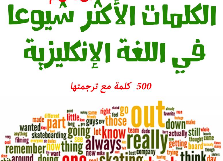 صورة كلمات انجليزيه , 500 كلمة انجليزية مهمة