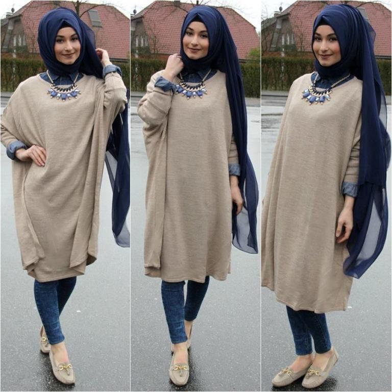صورة ملابس محجبات كاجوال , احدث الالبسة العصرية للمحجبات