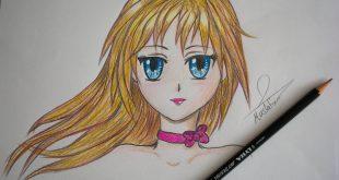 صورة رسومات بنات سهله , مدى سهولة رسم الفتاة