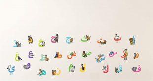 صورة ترتيب الحروف العربية , حفظ الحروف الابجدية