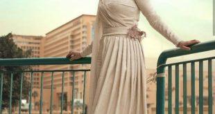 صورة موديلات فساتين للمحجبات , واو ما اجمل التصميم لاحسن الفستياين في قمه الروعه الاثاره