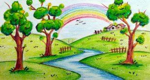 صورة لوحات رسم للاطفال ,الرسم يكسب الاطفال مهارات كثيرة