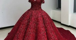 صورة صور فستان احمر , اجمل واروع فساتين باللون الاحمر 🙈