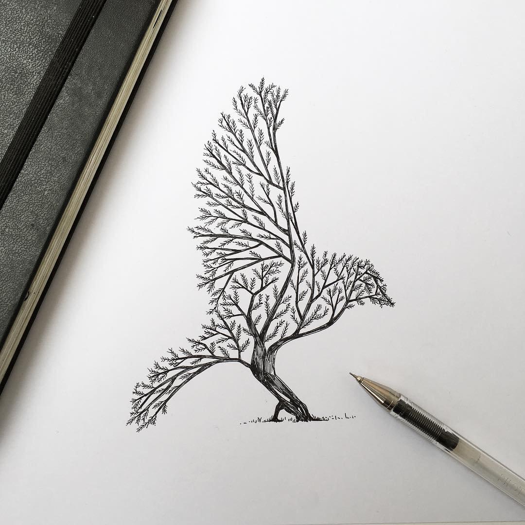 صورة صور رسومات جميله , رسومات لتعليم الرسم عليها سهلة وجميلة 👇