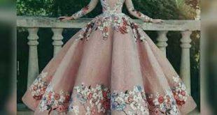 صورة فساتين منقوشة للمحجبات , اجمد استايل كاجوال في الفساتين المنقوشة 👇