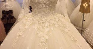 صورة اخر موضة فساتين زفاف , احدث صيحات الموضه في فساتين الزفاف الجامدة 🤫