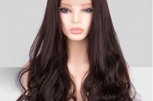 صورة شعر بني طويل , اللون البني بدرجاته بالصور 👇