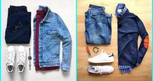 صورة ملابس رجالي شتوى , اخر صيحات الموضه للرجال في الموسم الشتوى 👇