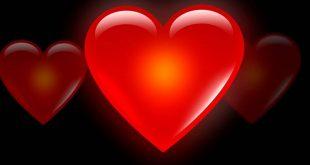 صورة عمق المشاعر فى قلب احمر , صور قلوب حب حلوة