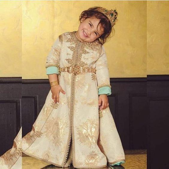 لباس مغربي للا طفال 7468-1