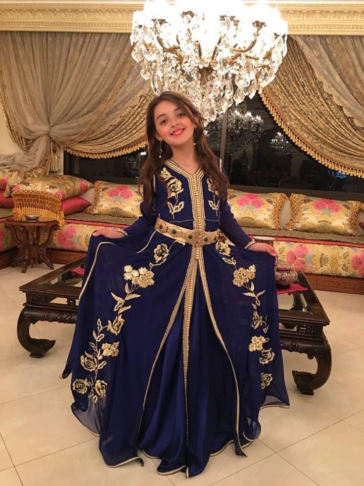 لباس مغربي للا طفال 7468-10