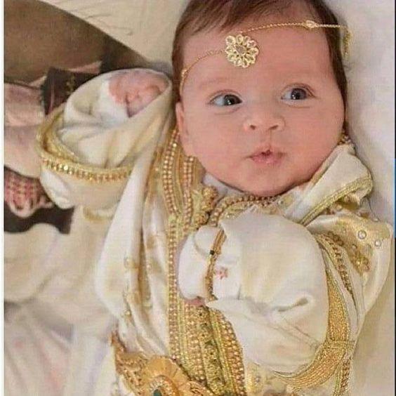لباس مغربي للا طفال 7468-2